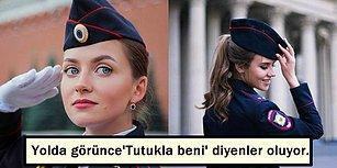 Rusya'nın Görenlere 'Tutukla Beni!' Diye Laf Attıracak Kadar Çekici ve Güzel Kadın Polisleri 😎