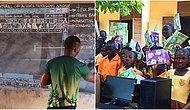 Microsoft Sözünü Tuttu: Kara Tahtada 'Word' Öğreten Öğretmene ve Öğrencilerine Bilgisayar Bağışladı!