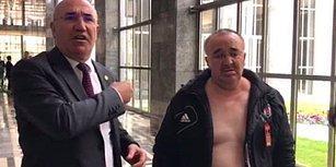 'Mustafa Kemal'in Askerleriyiz' Yazılı Tişört Giydiği İçin Meclise Alınmayan Vatandaş