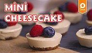 Kuru Meyve ve Kuru Yemişli Mini Cheesecake Nasıl Yapılır