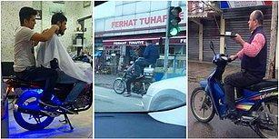 Neden Sevgili Motorcular? Motosikletle Çekilmiş Şaşkınlıktan Küçük Dilimizi Yutacağımız 17 Güldüren Fotoğraf