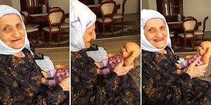 Oyuncak Bebeği Gerçek Zanneden Ninenin İçinizi Isıtacak Anları