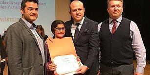 Kardeşi Serviste Havasızlıktan Can Vermişti: Yaren Sakin 'Sürücüyü Uyaran Sistem' ile TÜBİTAK Yarışmasında Birinci Oldu