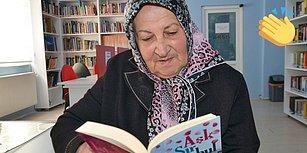 Kitap Kurdu Melek Teyze Kütüphaneden Ödünç Aldığı Kitapları Pazar Çantasına Dolduruyor ve Okuma Alışkanlığıyla Gençlere Örnek Oluyor! 👏