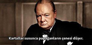 Tilki Gibi Bir Akla ve Bıçak Gibi Keskin Bir Mizah Anlayışına Sahip Winston Churchill'den 18 Unutulmaz Söz