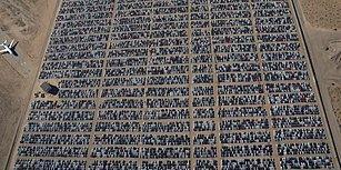 Emisyon Skandalı Pahalıya Mâl Oldu: Çarpıcı Görüntülerle Volkswagen'in Dev Araba Mezarlığı