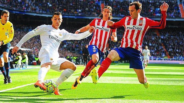 8 Nisan / Real Madrid - Atletico Madrid