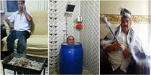 Evde Çektirdikleri Fotoğraflarla Can Sıkıntısını Dışa Vurmuş İnsanlardan 21 Komik Fotoğraf