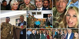 Erdoğan Üniforma Giydi: Selfie'ler ve Türküler Eşliğinde Sınır Karakoluna Moral Ziyareti
