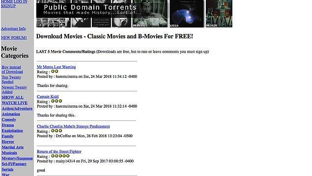3. Public Domain Torrents