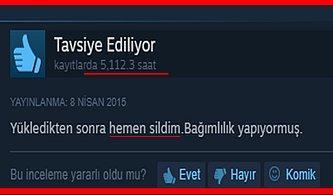 Türk Kullanıcıları Tarafından Yazılmış Birbirinden İlginç 20 Steam Yorumu