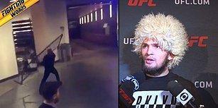 Efsane Dövüşçü Conor Mcgregor'un UFC Otobüsüne Yaptığı Saldırı