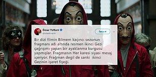 Gazeteci Ömer Turan, La Casa De Papel'deki 'Büyük Oyunu' Gördü: 'İkinci Gezi'nin İşaret Fişeği'