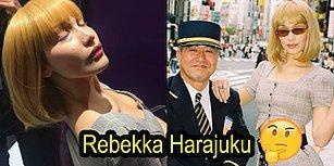Bella Hadid'in Sarışın Instagram Personasıyla Tanışın: Rebekka Harajuku!