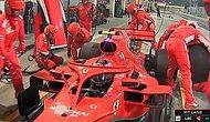 Formula 1'de Pit-Stop Sırasında Mekanikerin Bacağını Ezen Ferrari Pilotu Kimi Raikkonen