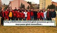 Maç Gününü Şaşıran Çankırıspor Maça Çıkmayınca Şampiyonluktan Oldu