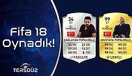 'Hayat Bir Oyun Oğlum': Mustafa Topaloğlu ve Çağlayan Topaloğlu, FIFA 18 Oynadı