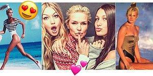 Anasına Bak Kızlarını Al! Dünyaca Ünlü Modeller Gigi Hadid ve Bella Hadid'in Güzeller Güzeli Anneleri: Yolanda Hadid