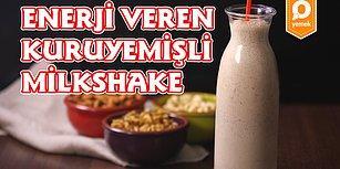 Bütün Lezzetleri Bir Bardağa Doldurduk! Enerji Veren Kuruyemişli Milkshake Nasıl Yapılır?