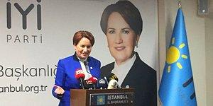 Meral Akşener: 'Herkes Ayağını Denk Alsın, İYİ Parti Seçime Girecek'
