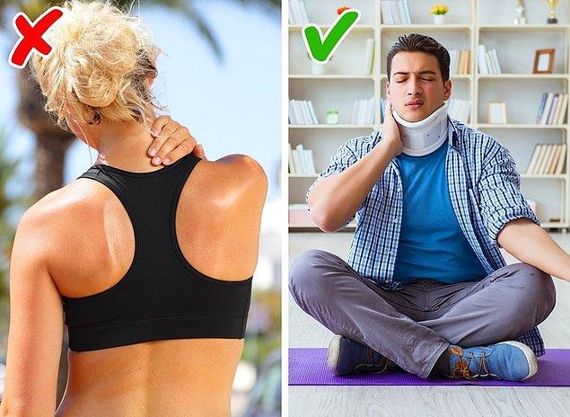 9. Yoga sırt ağrısına iyi gelir.