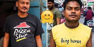 Bir Fotoğrafçının 10 Yıllık Seyahatleri Boyunca İnsanların Kıyafetlerinde Yakaladığı 32 Çarpıcı Mesaj