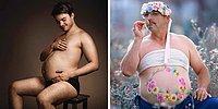 Annelerin Hamilelik Göbeğini Kıskanan Beylerden Bol Bira Göbekli 20 Efsane Fotoğraf
