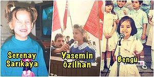 Onlar da Çocuk Oldu! Ünlülerin 23 Nisan'a Özel Paylaştığı, Daha Önce Hiç Görmediğiniz Çocukluk Halleri