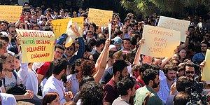 Cerrahpaşa Tıp'ta Protesto ve Bir Pankart: 'Üniversiteler Bakteri Değildir, Bölünerek Çoğalmaz'