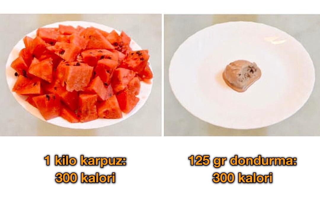 Daha az kalori için 12 öneri