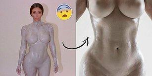 Kim Kardashian Yeni Parfümünün Tanıtımı İçin Çırılçıplak Poz Verdi, Ortalık Karıştı!