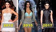 Dünyanın En Çok Kazanan Süper Modeli, Yüksek Modanın Baş Tacı Kendall Jenner'ın Podyum Evrimi!