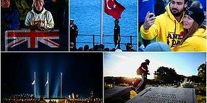 103 Yıllık Gelenek! 19 Fotoğraf ile Yüzlerce Kişinin Katıldığı Anzak Koyu'ndaki 'Şafak Ayini'