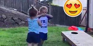İlk Öpücükten Sonra Şekilden Şekle Giren Çocuğun Muhteşem Anları