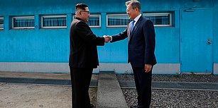 Kuzey Kore ile Güney Kore Liderleri Sınırda Bir Araya Geldi: 'Yeni Bir Tarih Başlıyor'