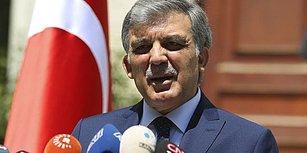Ve Abdullah Gül'den Açıklama Geldi: 'Geniş Mutabakat Olmadı, Aday Değilim'
