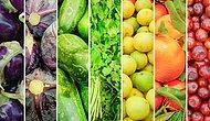 Renk Renk Meyve ve Sebze Yiyoruz! Kilo Vermek ve Sağlıklı Kalmak İsteyenlere Gökkuşağı Beslenme