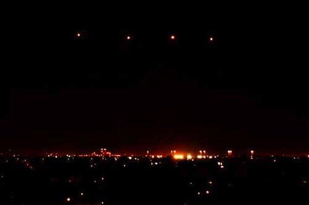 3. 13 Mart 1997'de binlerce kişi tarafından Arizona ve Nevada semalarında bu ışıklar görüntülendi. ABD hükümeti tarafından toplatılan bu görüntülerin dünya dışı canlıların ziyareti olduğu konusunda pek çok kişi hemfikir olsa da sırrı hâlâ çözülemedi.