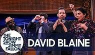 David Blaine'den 'The Tonight Show'da Muhteşem Kart Gösterisi