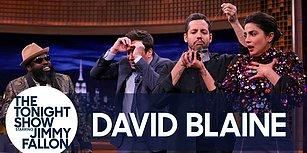 David Blaine'den 'The Tonight Show'da Muhteşem Kart Gösterisi