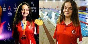 Helal Olsun Sana! 14 Yaşındaki Sümeyye Boyacı, Yüzmede Dünya Şampiyonu Oldu!