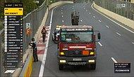 Formula 1 Azerbaycan Grand Prix'e Damga Vuran Türk Bayraklı Çekici