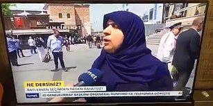 Yurdum İnsanının Erken Seçim Yorumu: 'Mehmet Bahçeli İyi Yaptı, Önden Yaptı, Arkadan Yapsaydı Millet Dağılırdı'