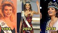 Buraya Bakarlar! Miss World'de Birinci Olmuş Son 33 Yılın 33 Güzeli