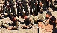 Bilek Güreşinde Amerikan Askerinin İfadesini Alan Mehmetçik