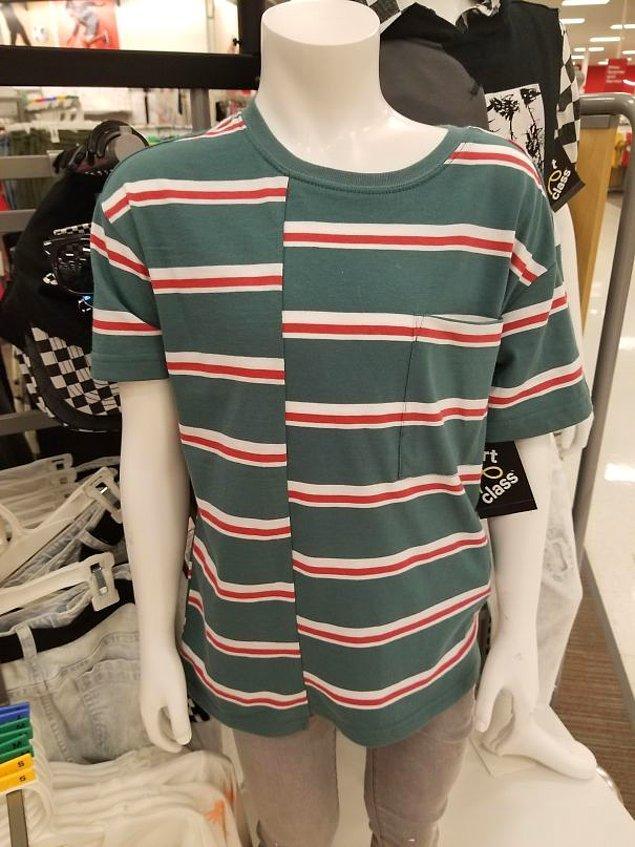27. Süpermarkette satılan bu tişört: