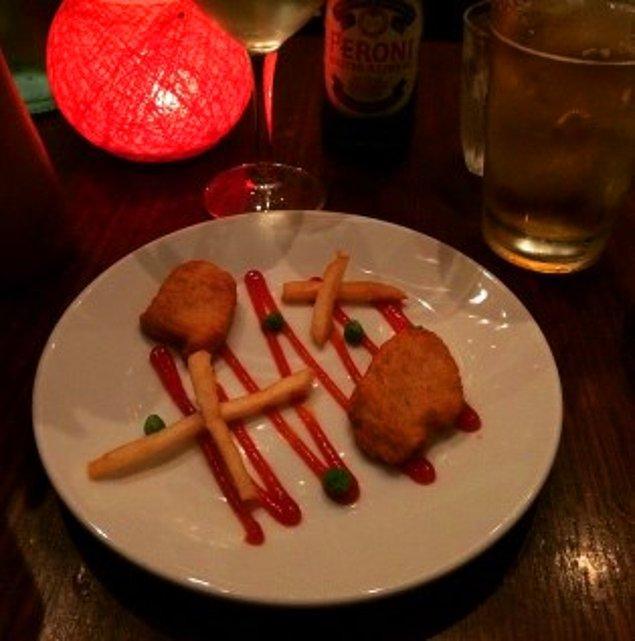 5. Romantik bir akşam yemeği