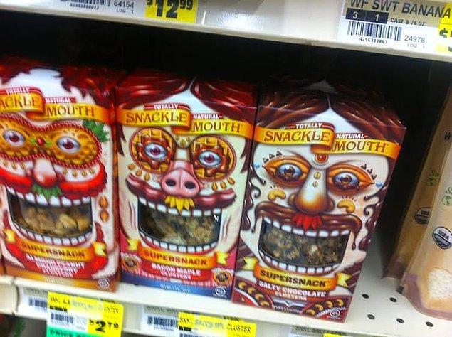 19. Küçük bir çocuk olduğunuzu ve bunları markette gördüğünüzü düşünsenize...