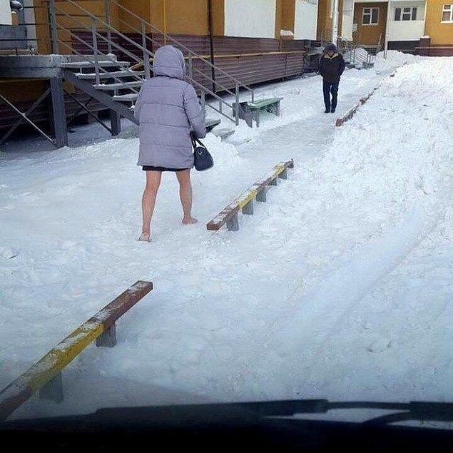 5. Karda yürümek negatif elektriği alıyormuş, öyle diyorlar...