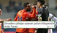 Hakemi İtip Kırmızı Kart Gören Arda Turan'a Futbolseverlerden Büyük Tepki